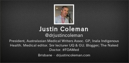Justin Coleman twitter
