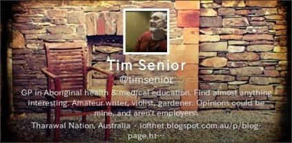 Tim Senior twitter